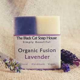 Organic Fusion: Lavender soap